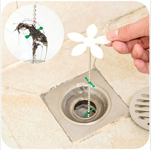 Starck 1 Floor (Money coming shop Bathroom Hair Sewer Filter Drain Outlet Kitchen Sink Filter Strainer Drain Cleaners Anti Clogging Floor Wig Removal Clog)