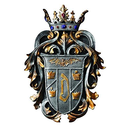 Design Toscano Count Dracula's Coat of Arms Wall - Coat Toscano
