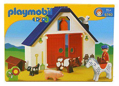 Playmobil 1.2.3 Animal Farm - Farm 123