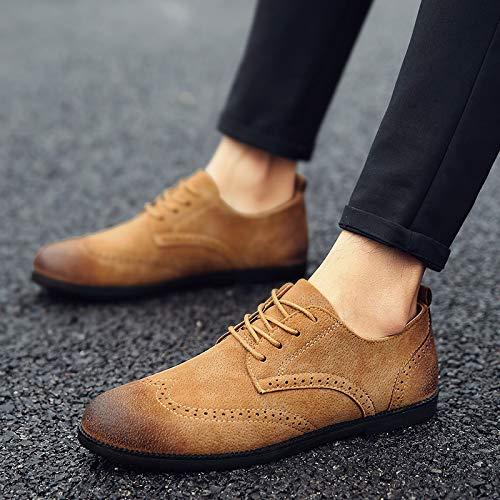 Fashion Nanxieho Men's Leisure Men Trend Shoes Suedepu rtqP0zxqOw