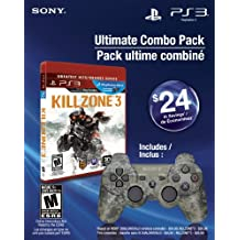 Ultimate Combo Pack - Killzone 3 Greatest Hits & Dualshock 3 wireless controller - PlayStation 3 Standard Edition