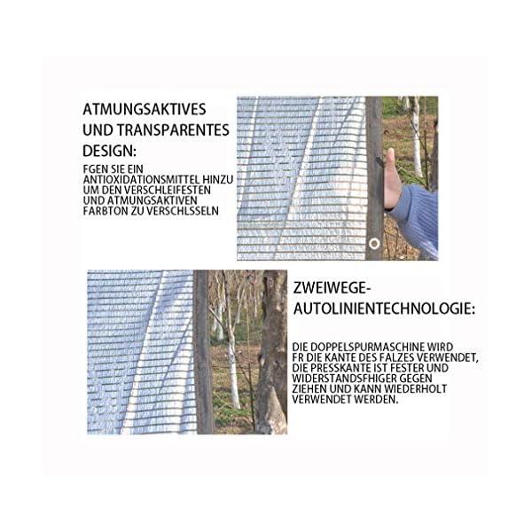 VN Ombra Bianca Parasole Panno Parasole Rete di Alluminio Foglio pianta grassa Riflettente Gazebo Protezione Solare… 4 spesavip