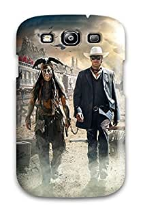 Slim Fit Tpu Protector Shock Absorbent Bumper The Lone Ranger Case For Galaxy S3
