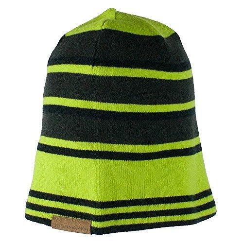 Obermeyer Boys Traverse Knit Hat Screamin' Green Teen by Obermeyer