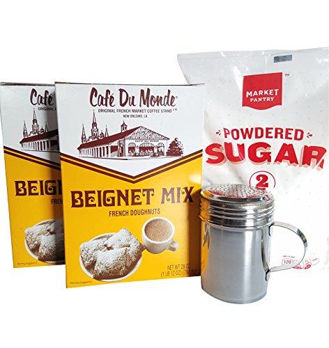 t Mix (2 boxes), Powdered Sugar, Shaker - 4 items ()