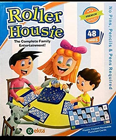 House of Gift Roller Housie Board Game Family Game Board Game