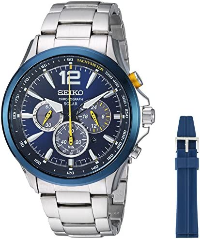 Seiko Jimmie Johnson Special Edition Solar Chronograph Watch