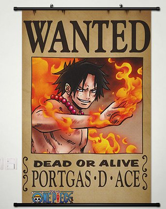 Wall Scroll Poster Fabric Painting For Anime One Piece Portg