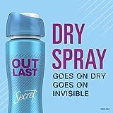 Secret Outlast Dry Spray Antiperspirant and