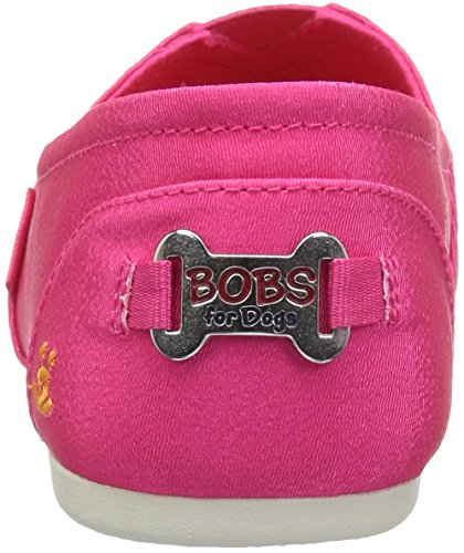 BOBS Skechers Bobs Flat Breeds Plush Ballet Women's Fuchsia Big from Smooch 6dA1rqA