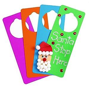 Colorations EVA Foam Door Hangers, Set of 24, Multi-Color Pack, for Kids, Arts & Crafts, Craft Project, Teacher…
