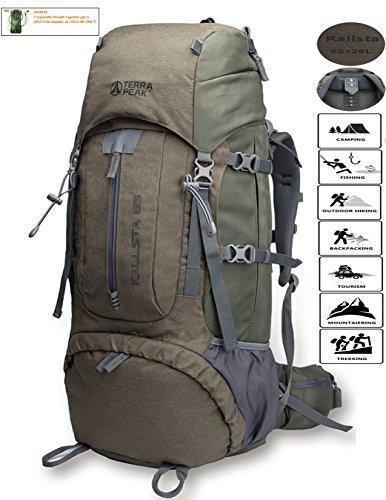 045d91fcba 8 · Backpacking Backpack Hiking Backpack Internal Frame Backpack backpacks  for travel 65L+20L with free raincover