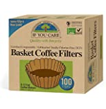 2 x 100 Basket Coffee Filters Unbleached Totally Chlorine-Free by If You Care