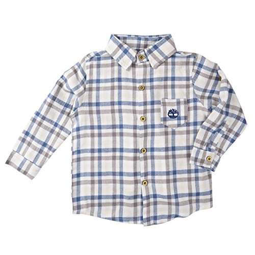 Checkered Folder (Long Sleeve Shirts For Baby Boys, Vintage Toddler Striped Plaid Shirt (4 years old))
