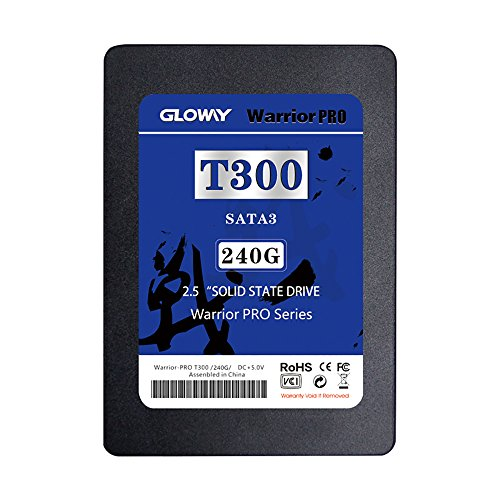 Gloway Hot Sale SSD 240GB SATA III 2.5-Inch 7mm Height Solid State Drive Internal SSD for Laptop Desktop Server with Read Up To 515MB/s