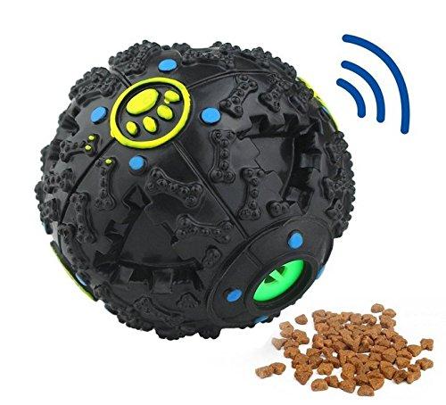 Cadeau réfléchi Jouets interactifs de dents de distributeur de nourriture de boule de jouets de chien pour l'animal familier Kolimo