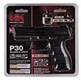 HK Heckler & Koch P30 Spring Powered 6mm BB Pistol Airsoft Gun - Includes 400 BBs