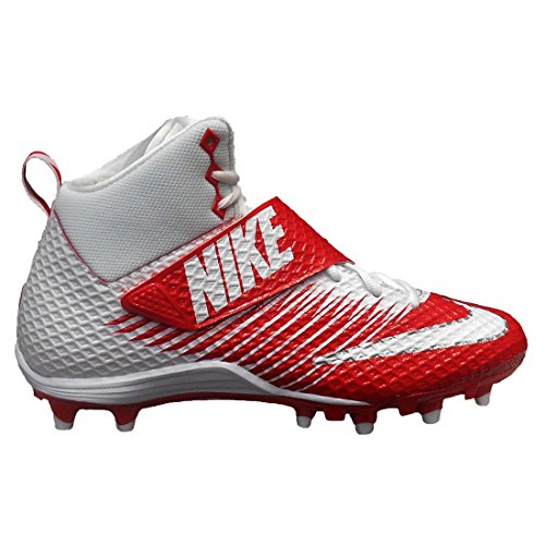 NIKE Lunarbeast Pro TD CF Football Cleat White/Red axjIxJwvrT