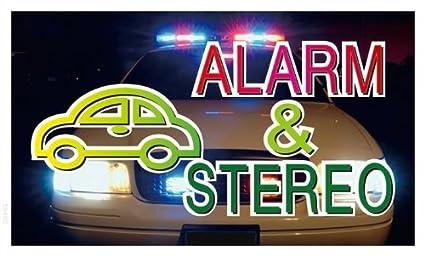 Publicidad lona/lona - Andamio bb463 - Car Alarma & Stereo ...