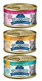 Blue Buffalo Wilderness Wild Delights Grain Free Natural Cat Food 3 Flavor Variety