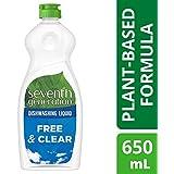 Seventh Generation Dishwashing Liquid Free & Clear 650ml