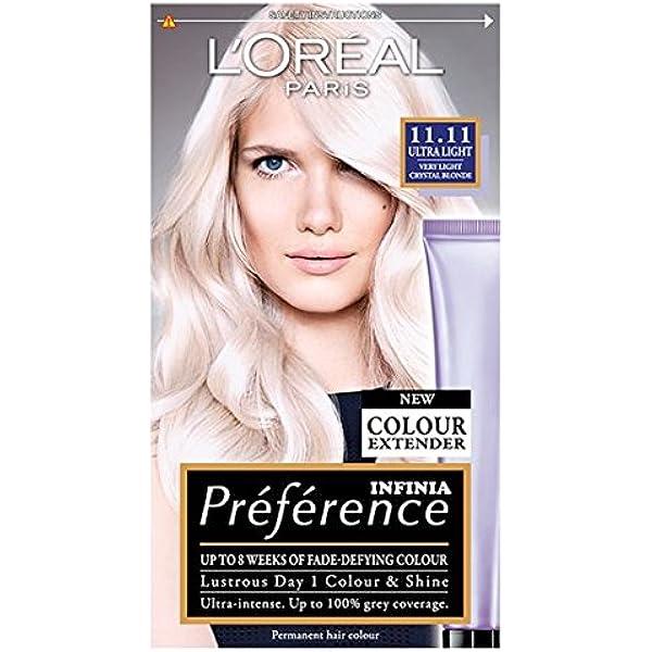LOreal Recital Preference 11.11 Ultra Ligero Rubio Cristal ...