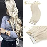 Best Hair Extensions - Sunny 14inch Blonde Tape in Hair Extensions Human Review