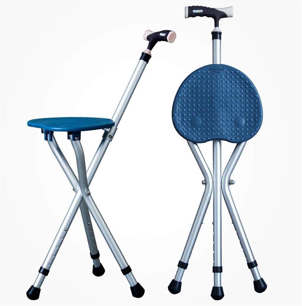Trekking Poles TTEL Cane Seat Verstellbarer Klappspaziergang Cane Chair Hocker Massage Gehstock mit B07QK6V72H Wanderstcke Macht das Leben