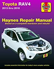 Toyota Rav4 2013 thru 2018 Haynes Repair Manual: Based on a complete teardown and rebuild * Includes essential information for today's more complex vehicles
