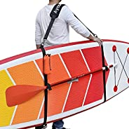 Ayaport SUP Paddle Board StrapsSurfboard CarrierStrapsHeavy Duty Carrying Shoulder Padded Straps for Paddle