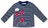 JoJo Maman Bebe Air Show Top (Toddler/Kid) - Navy/White Stripe-3-4 Years