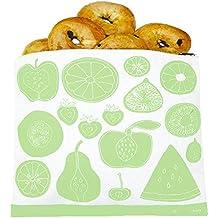 Lunchskins gallon Fruit Zip Bag, Green