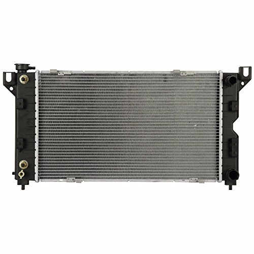 Klimoto Brand New Radiator fits Chrysler Town & Country Dodge Grand Caravan Plymouth Grand Voyager 2.4 L4 3.0L 3.3L 3.8L V6 040876414068 675-02358A CH3010163 675-02358A CU1850 RAD1850 DPI1850