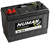12V 110AH Numax XV31MF HD Ultra Deep Cycle Leisure Marine Battery - Dual Purpose (Starting & Auxiliary) Deep Cycl