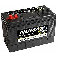 Numax XV31MF Heavy Duty Ultra Deep Cycle Leisure Marine Battery - 12V / 105Ah / 740EN / 925MCA - Dual Purpose (Starting & Auxiliary) - 3 Years Warranty