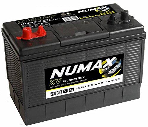 Numax XV31MF Heavy Duty Ultra Deep Cycle Leisure Marine Battery - 3 Years Warranty