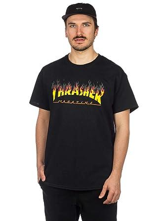 70da802435 Amazon.com: Thrasher BBQ Logo Men's T-Shirt: Clothing