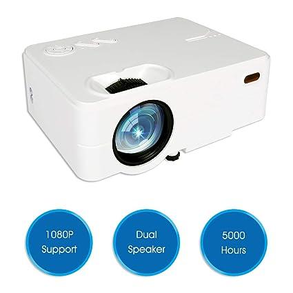 Amazon com: Mini Projector, Full HD 1080P Projector 4K 2019 Upgraded