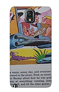 For OaTYqPa1402VwxvH Papercraft Flintstone Music To The Flintstone Chords Protective Case Cover Skin/galaxy Note 3 Case Cover