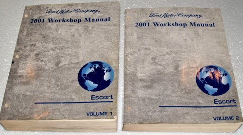 2001 Ford Escort Workshop Manuals (Coupe, Sedan, ZETEC, 2 Volume Set)