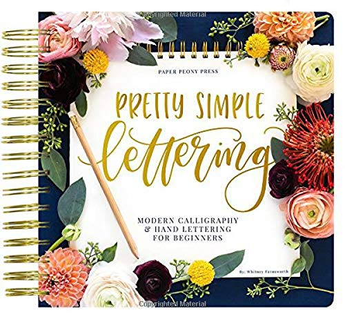 Pretty Simple Lettering Calligraphy Beginners product image
