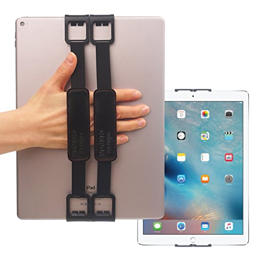 WiLLBee CLIPON 2 WIDE for Big Tablet PC (12~13inch) Smart Finger Ring Hand Hold Strap Stand Grip Case Band Holder - iPad Pro 12.9 Surface Pro4 Pro3 Galaxy Note 12.2 Tab Pro S 12.0 Book 12 IdeaPad MiiX
