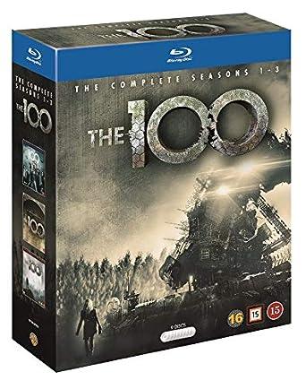 The 100 Season 1-3 Blu Ray Box [Nordic Import]: Amazon co uk