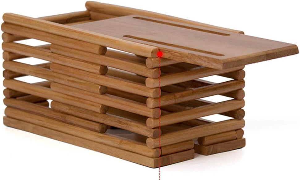 Insun Caja para Organizar los Cables de Madera de Vid roja Organizador para los Cables para Oculta los Cables y Mantenlos Ordenados Marr/ón M