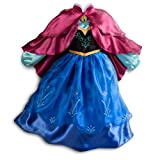 Disney Store Frozen Princess Anna Costume Size Medium 7/8 (With Cape)
