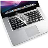 "BisLinks Coque de protection en silicone pour clavier Conçu pour Apple MacBook Pro 13""/15""/17"" version US"