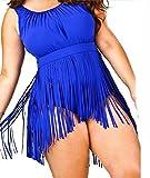 Best MiYang One Piece Swimsuits - MiYang Women's Plus Size Tassel One Piece Swimwear Review