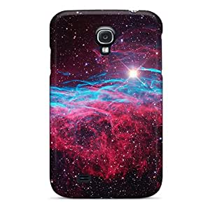 For Galaxy S4 Premium Cases Covers Purple Space Dust Protective Cases