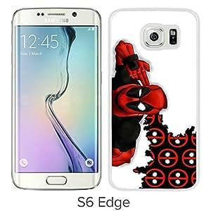 Best-Diy Custom Design Deadpool 3 White Samsung xEqj4xC2CfZ Galaxy S6 Edge cell phone case cover