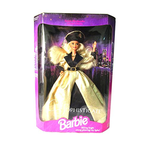 CITY SOPHISTICATE BARBIE, SERVICE MERCHANDISE LIMITED EDITION, 1994 EDITION, MATTEL #12005, NRFB